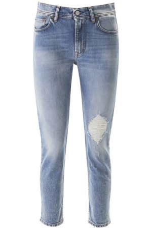 JEANS MELK BLUE DESTROYED