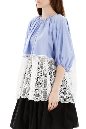 BLUSA COMMUNION CON PIZZO