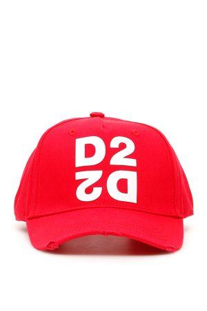 Czerwona czapka z daszkiem D2