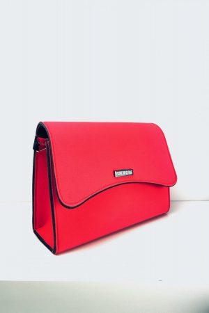 Bella Mini czerwona torebka na ramię