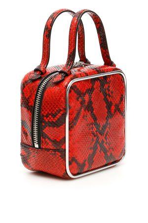 Czerwona torebka do ręki