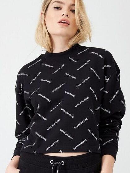 Bluza czarna CK