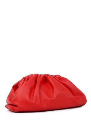Czerwona duża kopertówka