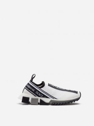 Czarno białe sneakersy Sorrento