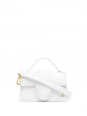 LE PETIT BAMBINO biała torebka do ręki lub na ramię