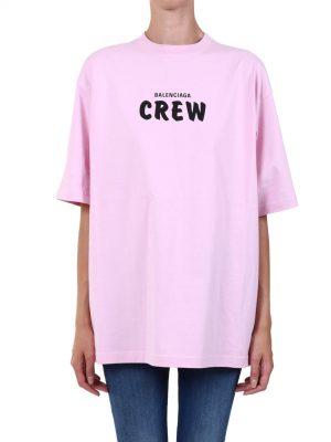 CREW T-SHIRT PINK