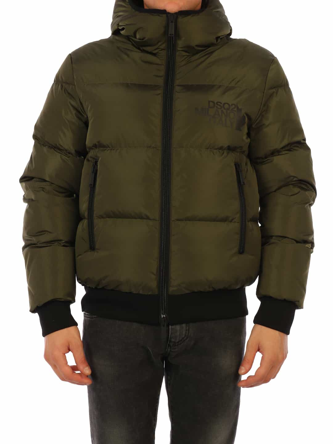 DOWN JACKET GREEN