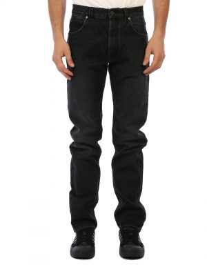 TAPERED JEANS BLACK