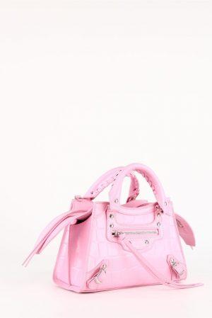 Torebka w cudownie różowym kolorze
