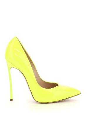 Szpilki w cudownie żółtym kolorze