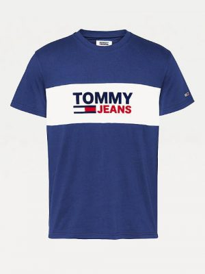 T-shirt granatowy TOMMY JEANS
