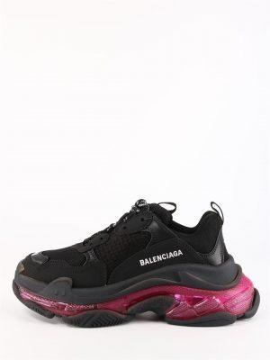 TRIPLE S czarne sneakersy Balenciaga