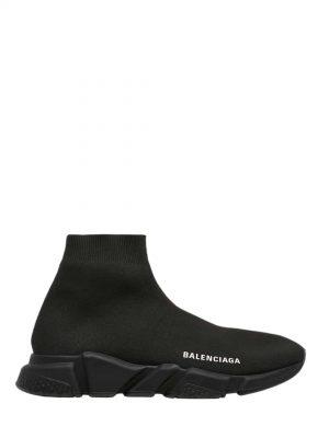 Czarne wysokie sneakersy