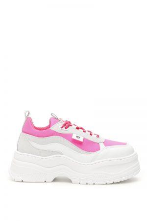 Sneakersy na koturnie