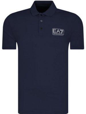Polo EA7 navy blue