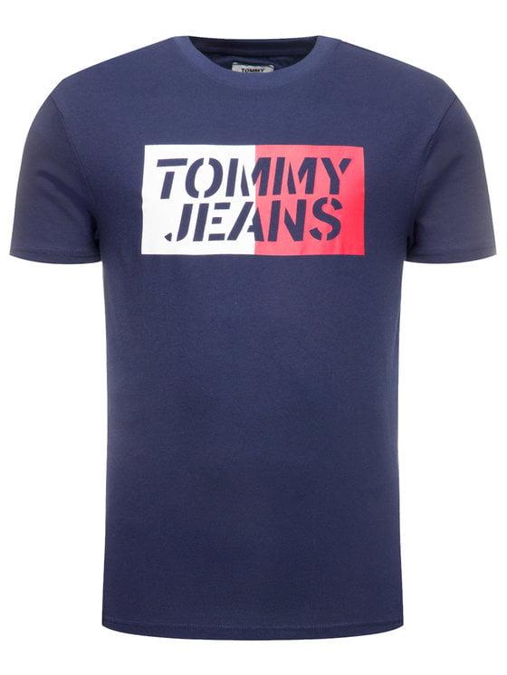 Koszulka TOMMY JEANS box