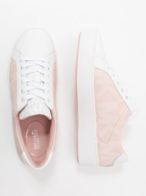 Sneakersy z logo MK kolor jasny róż