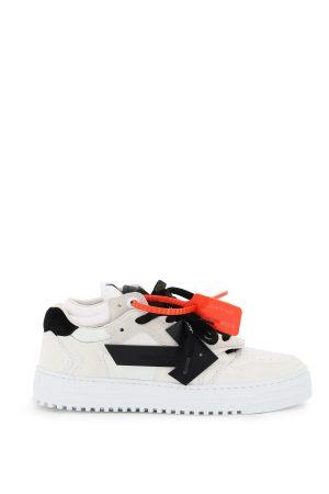 Sneakersy biało czarne plomba