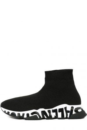 LOGO SPEED Sneakersy wysokie