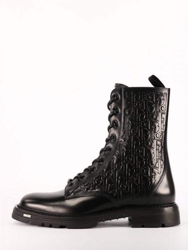 Dior wysokie czarne buty