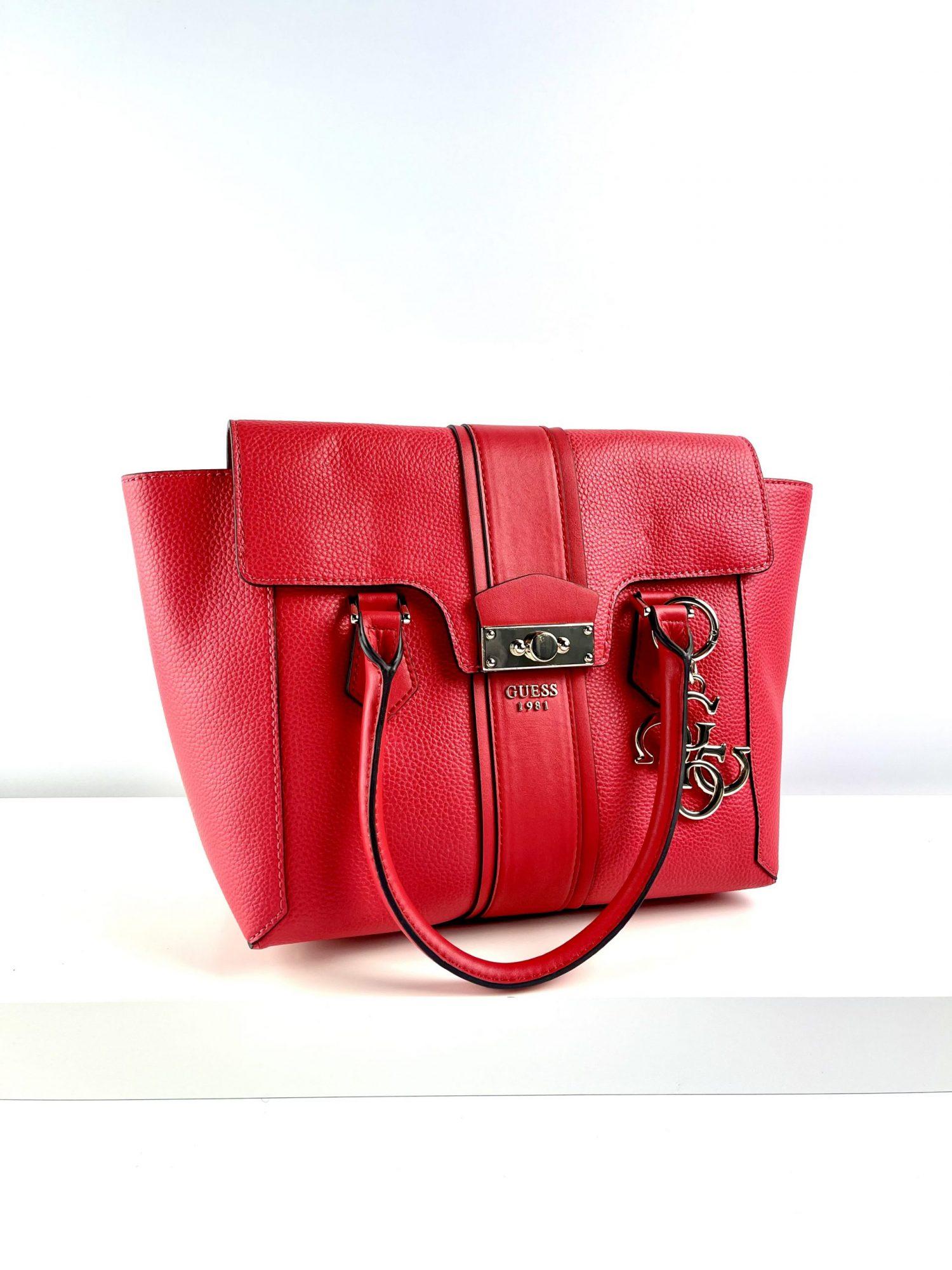 Czerwona shopperka